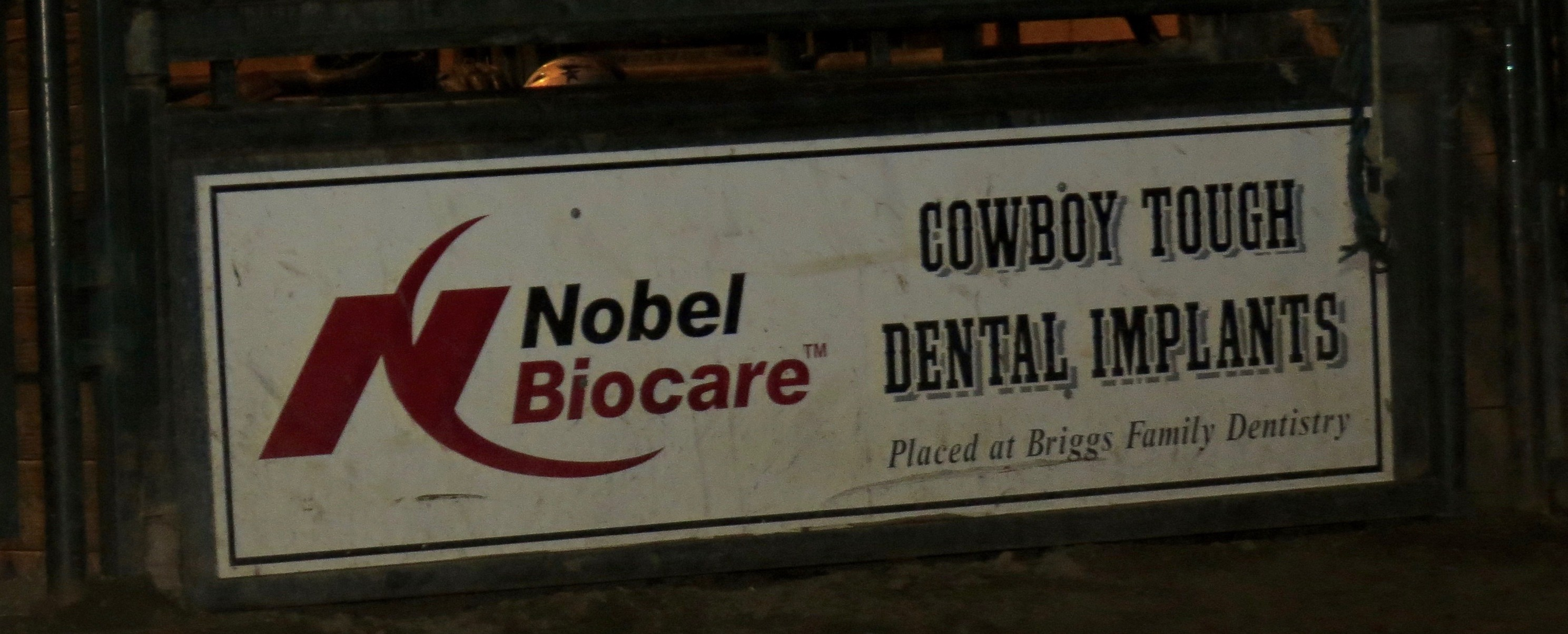 Cowboy tough dental implants